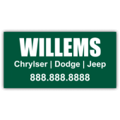Willems Chrysler Magnetic Sign - Magnetic Sign