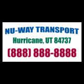 Nu-Way Transport Magnetic Sign - Magnetic Sign