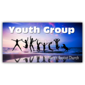 St. Mary's Baptist Church Youth Group Vinyl Banner