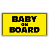 Baby On Board Safety Magnetic Sign - Magnetic Sign