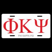 Phi Kappa Psi License Plate