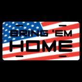 Bring 'Em Home License Plate
