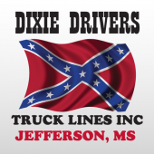 Dixie 325 Truck Lettering