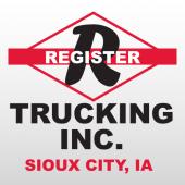 Register 327 Truck Lettering