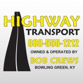 Highway 341 Truck Lettering