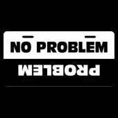 Problem No Problem License Plate