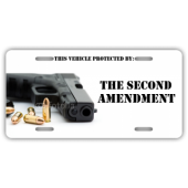 Second Amendment License Plate