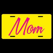 Mom License Plate