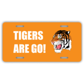 Tigers Are Go License Plate