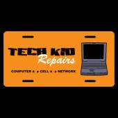 IT Technician License Plate