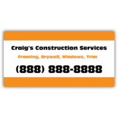 Craigs Construction Service Magnetic Sign - Magnetic Sign