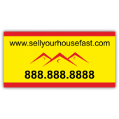 Sell Your House Fast Magnetic Sign - Magnetic Sign