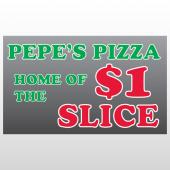 Pizza 288 Window Lettering