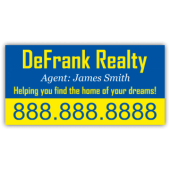 DeFrank Realty Magnetic Sign - Magnetic Sign