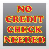 Credit 290 Window Lettering