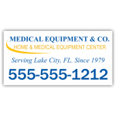 Medical Equiment Company Magnetic Sign
