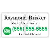 Medical Nutritionist Magnetic Sign - Magnetic Sign