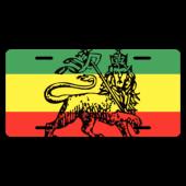 Rastafari License Plate