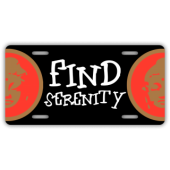 Find Serenity License Plate