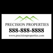 Precision Properties Vinyl Banner