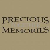 Memories 253 Wall Lettering