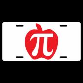Apple Pi License Plate