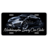 Northampton Luxury Car Sales License Plate