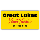 Great Lakes Youth Theatre Magnetic Sign - Magnetic Sign
