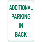 Additional Parking In Back