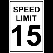 Speed Limit 15
