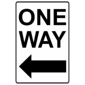 One Way - Left