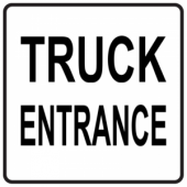 Truck Entrance - Square