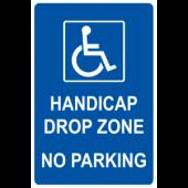 Drop Zone No Parking