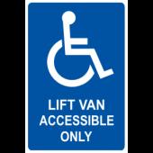 Lift Van Only