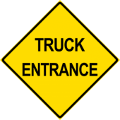 Truck Entrance Entrance