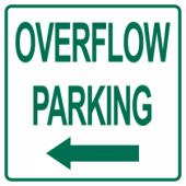 Overflow Parking Left