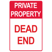Private Property - Dead End