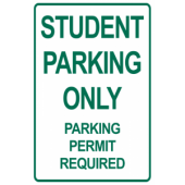 Student Parking Only