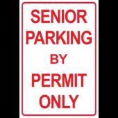 Senior Parking Permit Only