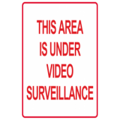 Area Is Under Video Surveillance