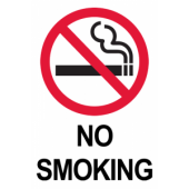 No Smoking - Standard