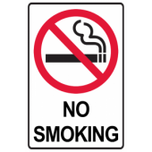 No Smoking - Border