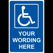 Handicap - Your Wording Here