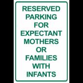 Reserved Parking - Pregnant/Infants