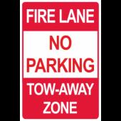 Fire lane - No Parking