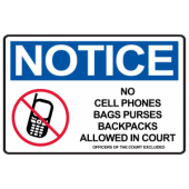 No Phones in Courtroom Alt