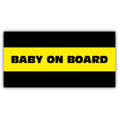 Baby On Board Magnetic Sign - Magnetic Sign