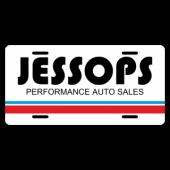 Jessops Performance Auto License Plate