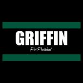 Griffin For President Vinyl Banner