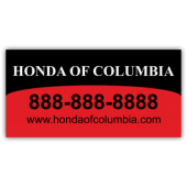 Honda of Columbia Magnetic Sign - Magnetic Sign